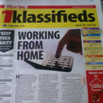 "An article ""Working From Home"" on NST today"